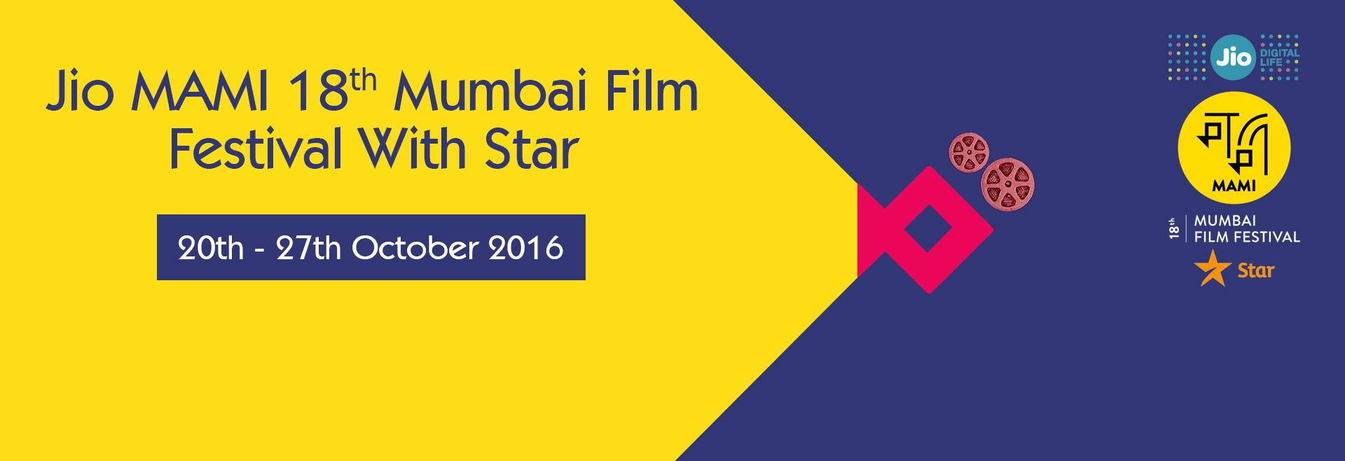 Jio MAMI 18th Mumbai Film Festival with Star