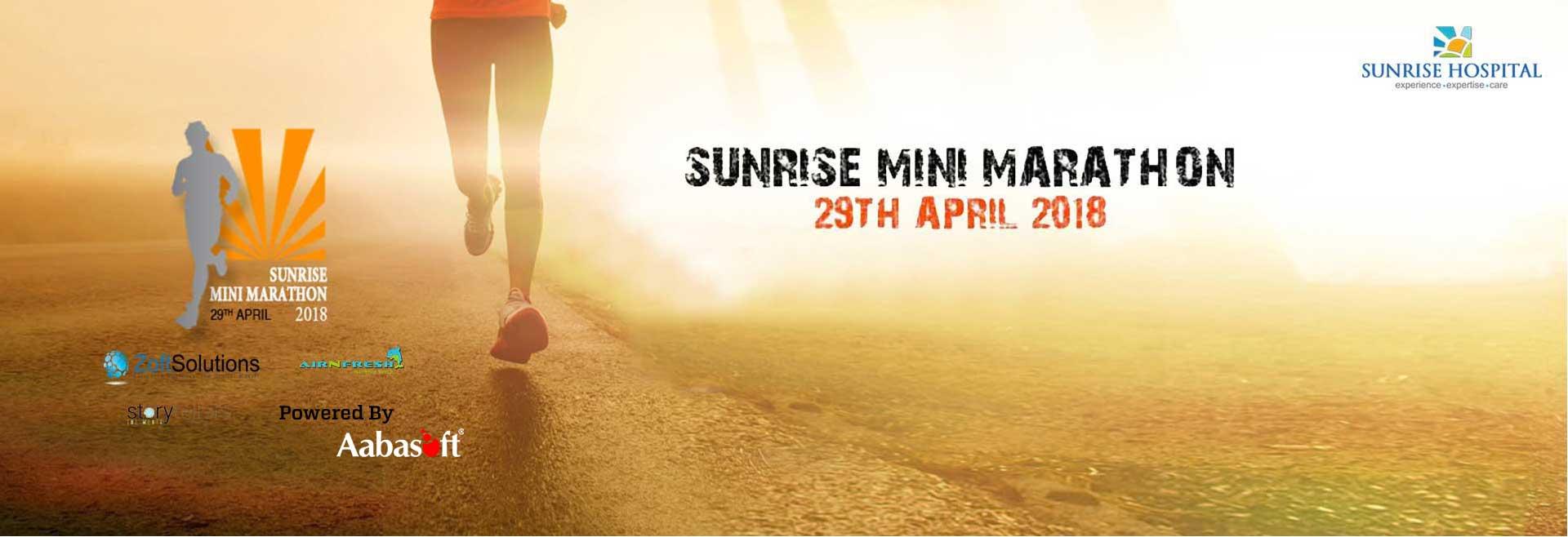 Sunrise Mini Marathon 2018