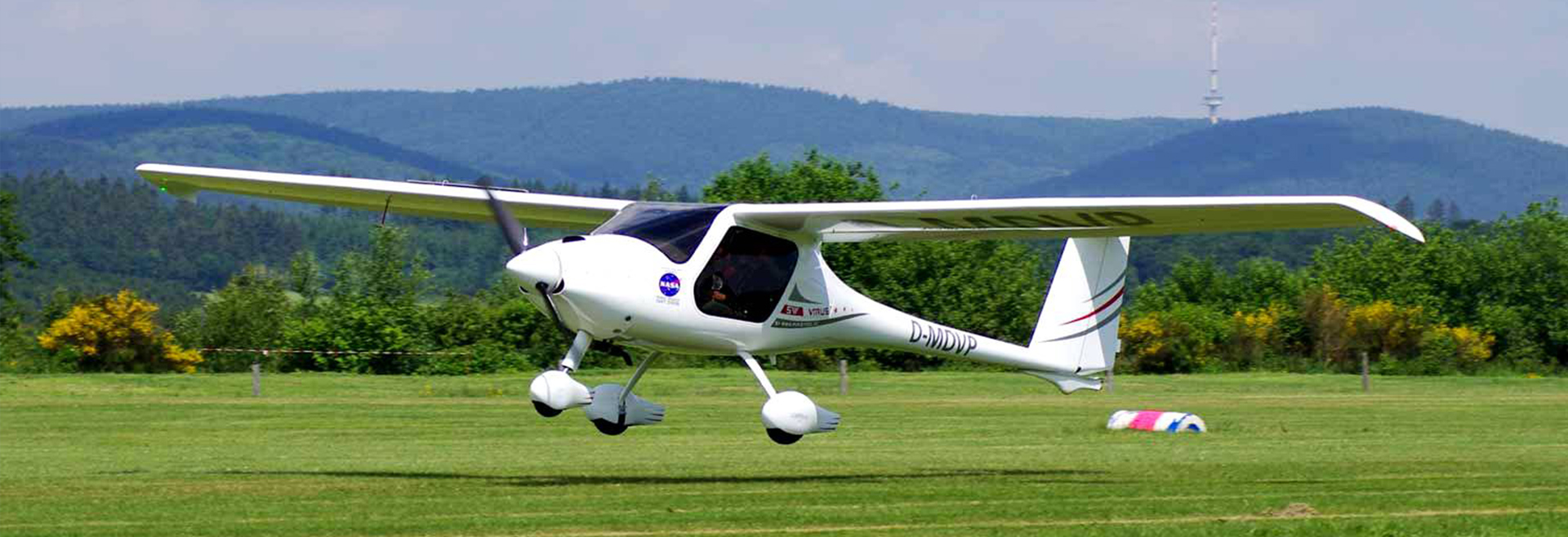 Microlight Flying