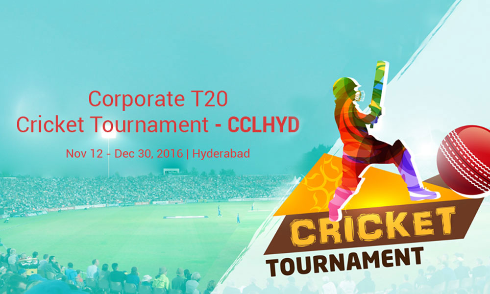Corporate T20-Cricket Tournament-CCLHYD