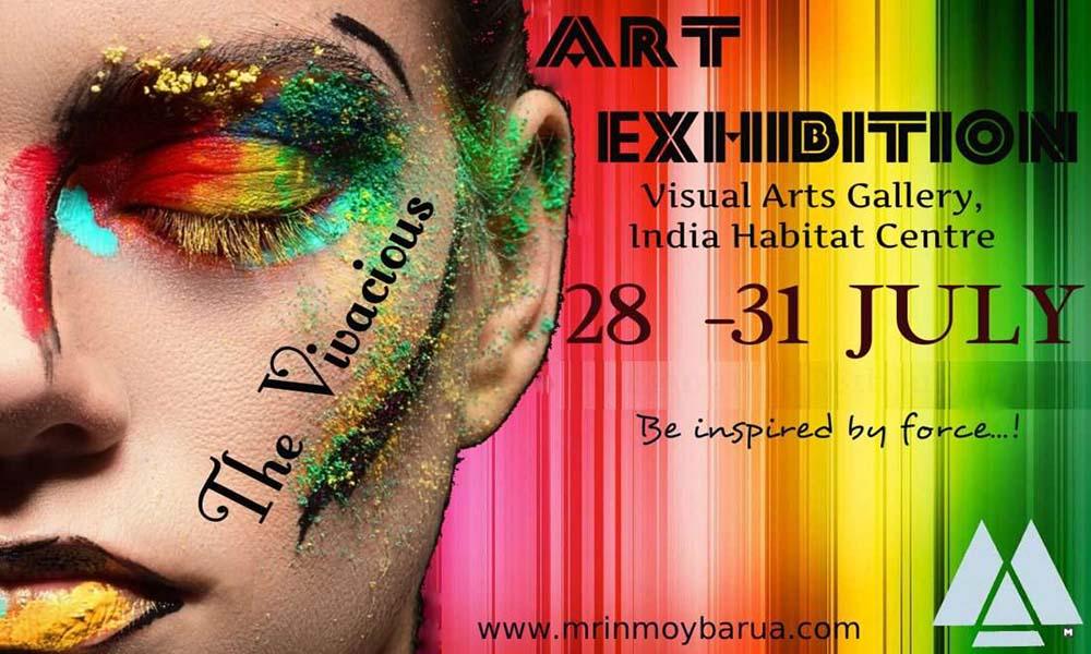 The Vivacious Art Exhibition – IHC, Delhi