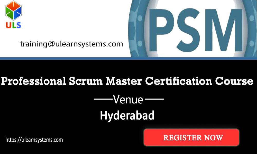 Psm Certification Training Courseeducation Events In Hyderabad