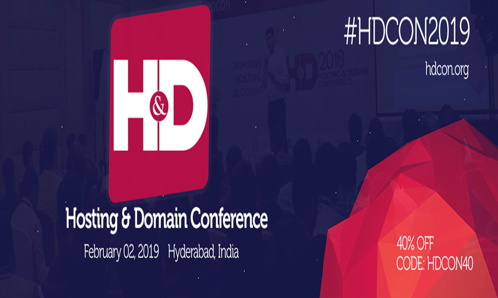 Hosting and Domain Conference 2019