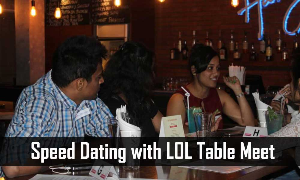 Speed dating bangalore