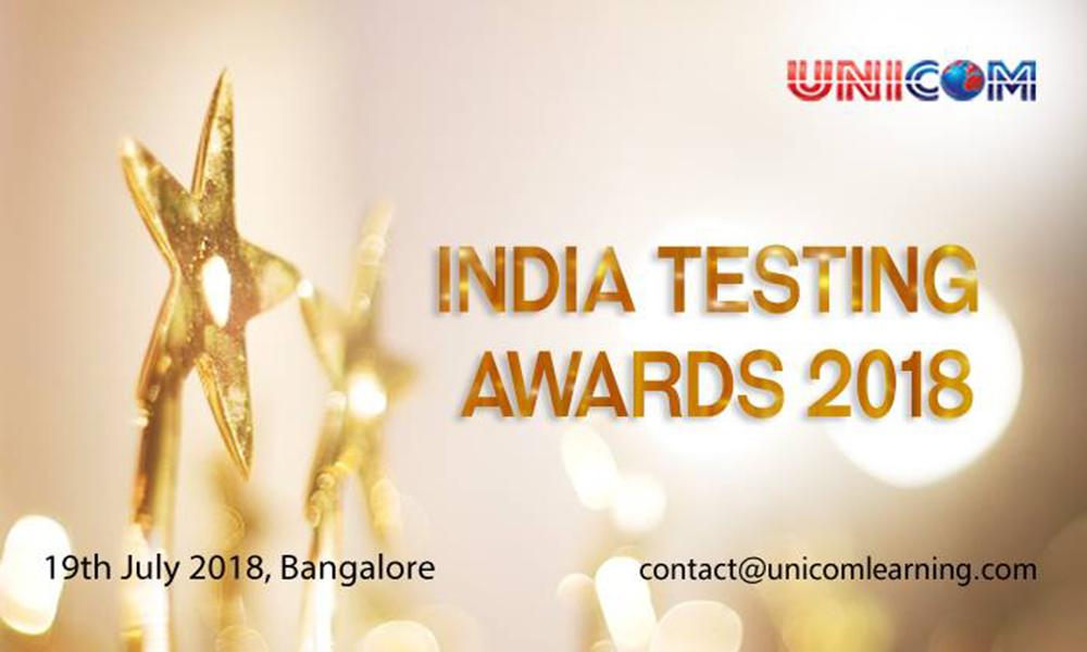 India Testing Awards 2018