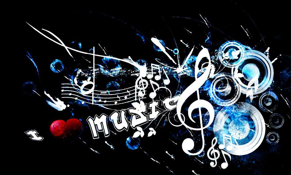 заставка на рабочий стол музыка № 163428 бесплатно