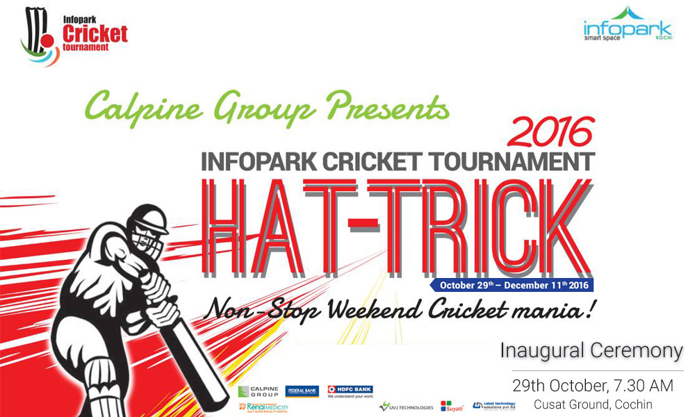 Infopark Cricket Tournament 2016