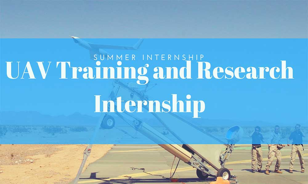 Summer Internship:UAV Training and Research Internship