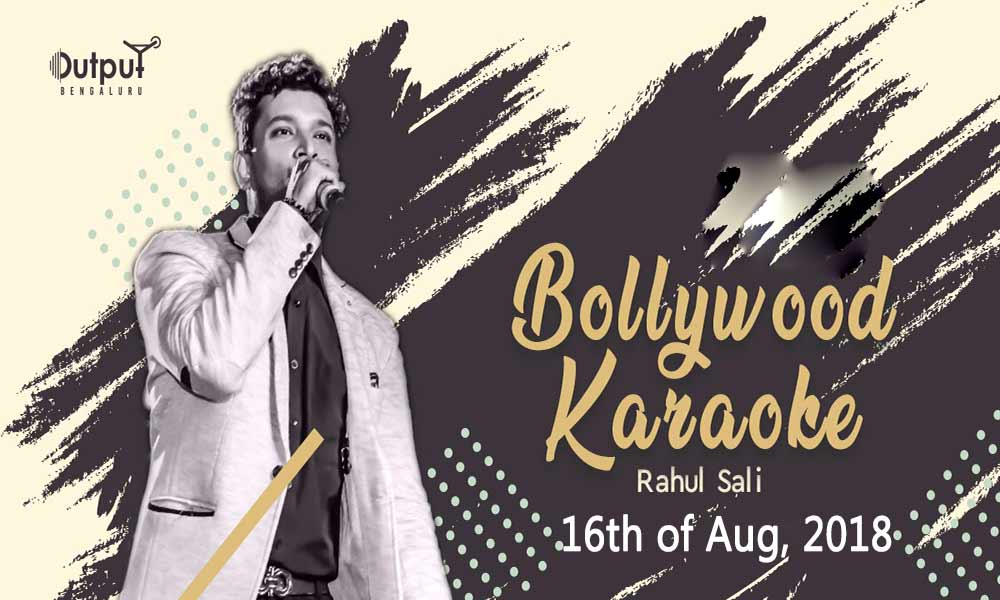 Bollywood Karoake with Rahul Sali