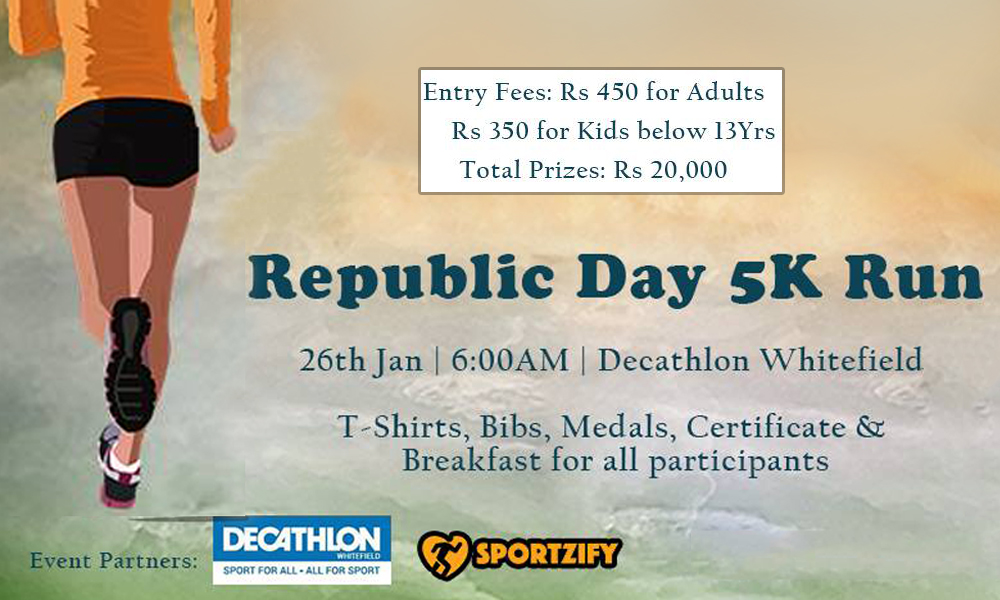 Whitefield Republic Day Run 2017
