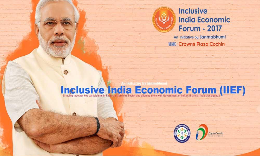 Inclusive India Economic Forum (IIEF 2017)