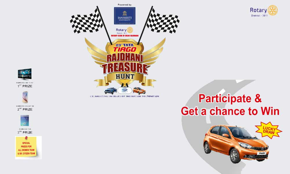 The 23rd Tata Tiago Rajdhani Treasure Hunt