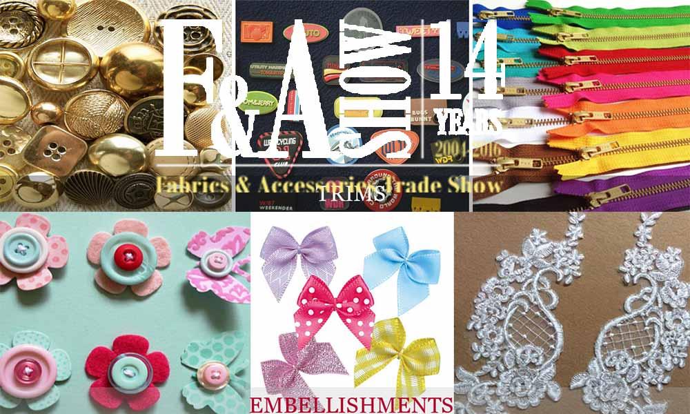 Fabrics & Yarnex Accessories Trade Show 2017
