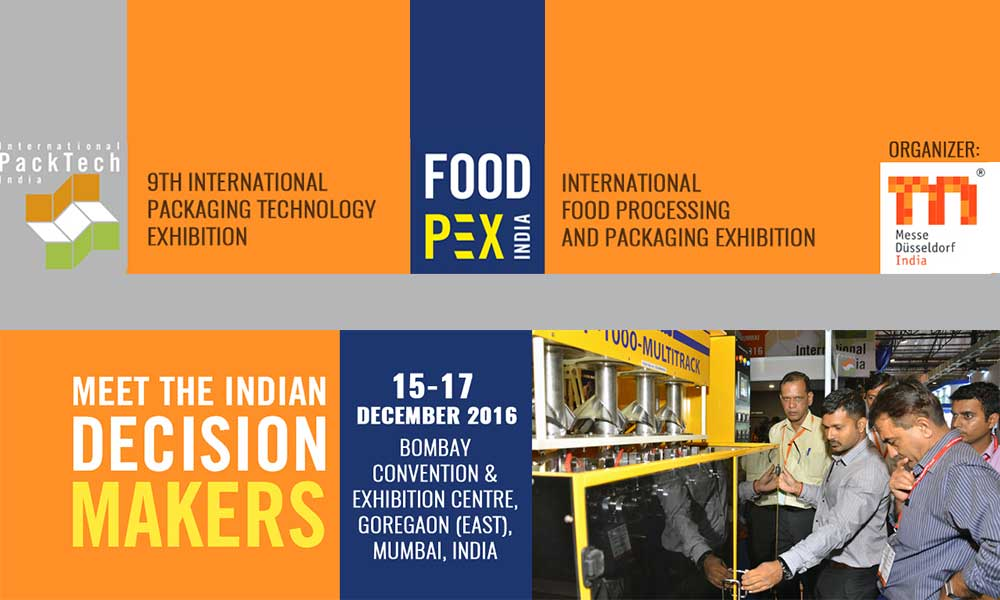 International PackTech India and FOOD PEX INDIA