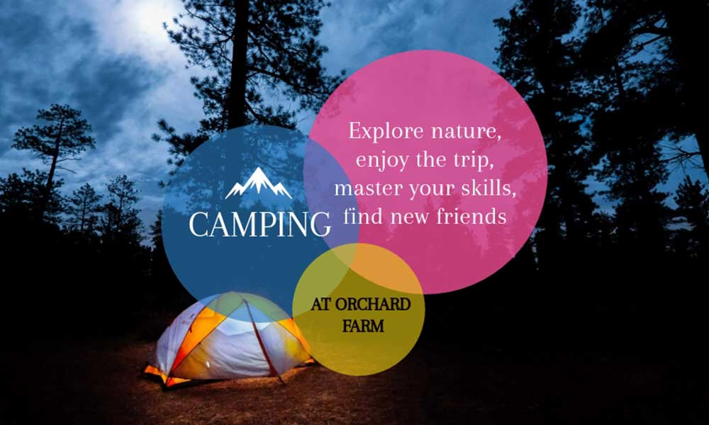Camping at Orchard Farm, Dahanu