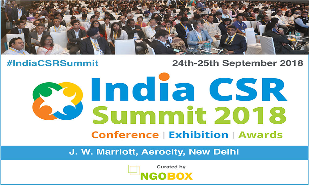 India CSR Summit & Exhibition 2018