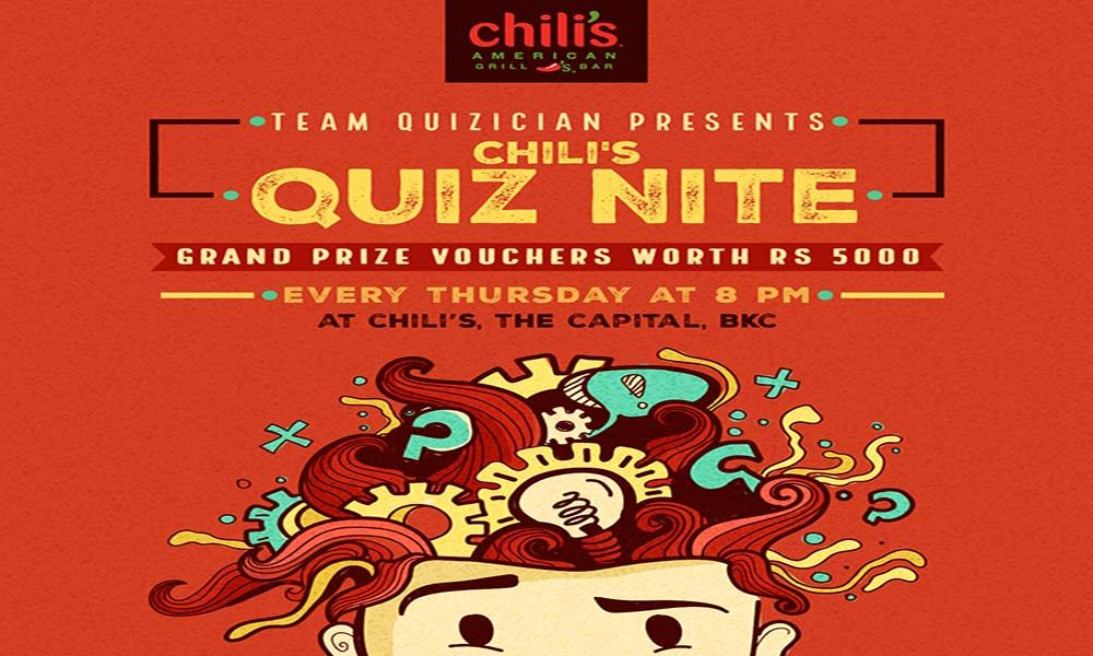 Quiz Nite at Chili's