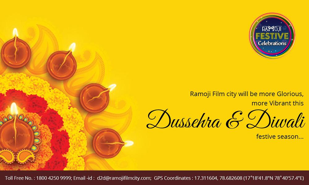 Ramoji Film City Plans Grand 'Dussehra and Diwali' Celebrations