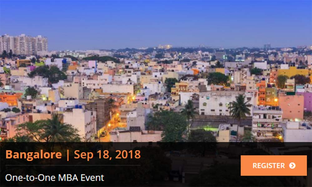 Top International MBA One to One Event in Bangalore