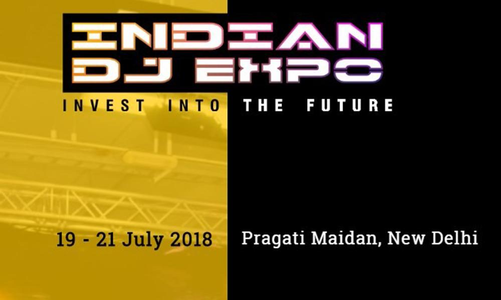 Indian DJ Expo 2018 at New Delhi