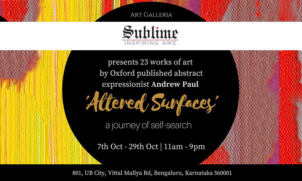 Altered Surfaces-a journey of self-sdarch