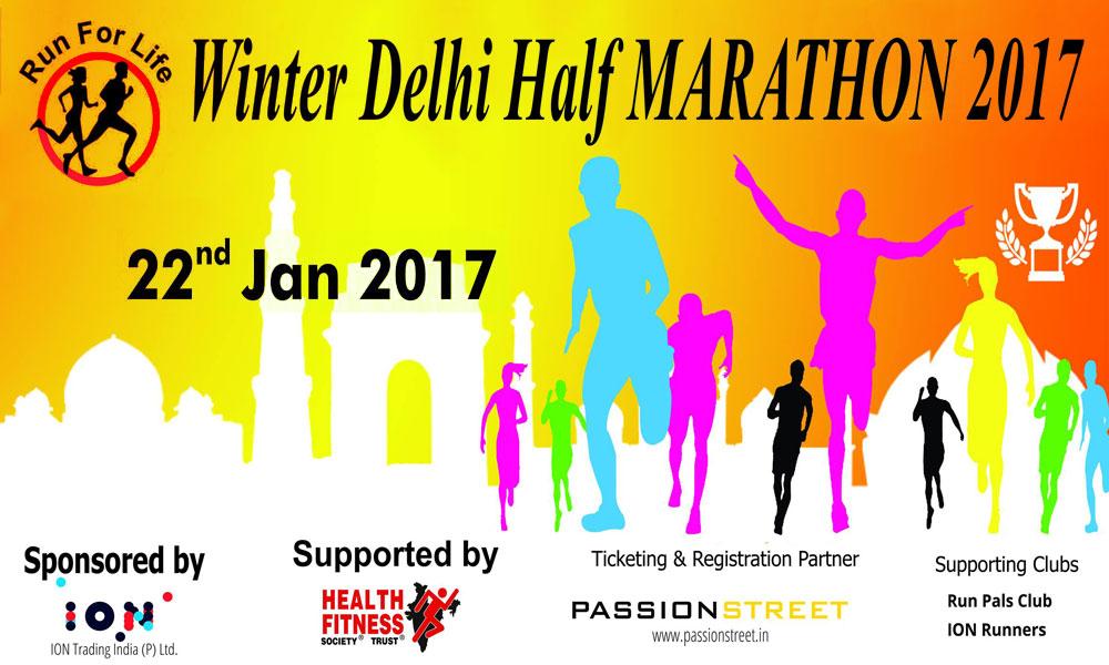 Winter Delhi Half Marathon