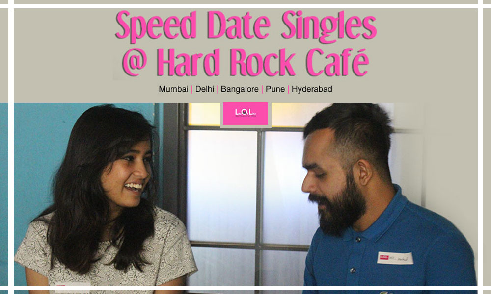 Speed dating events in bangalore