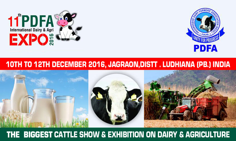 PDFA International Dairy and Agri Expo 2016