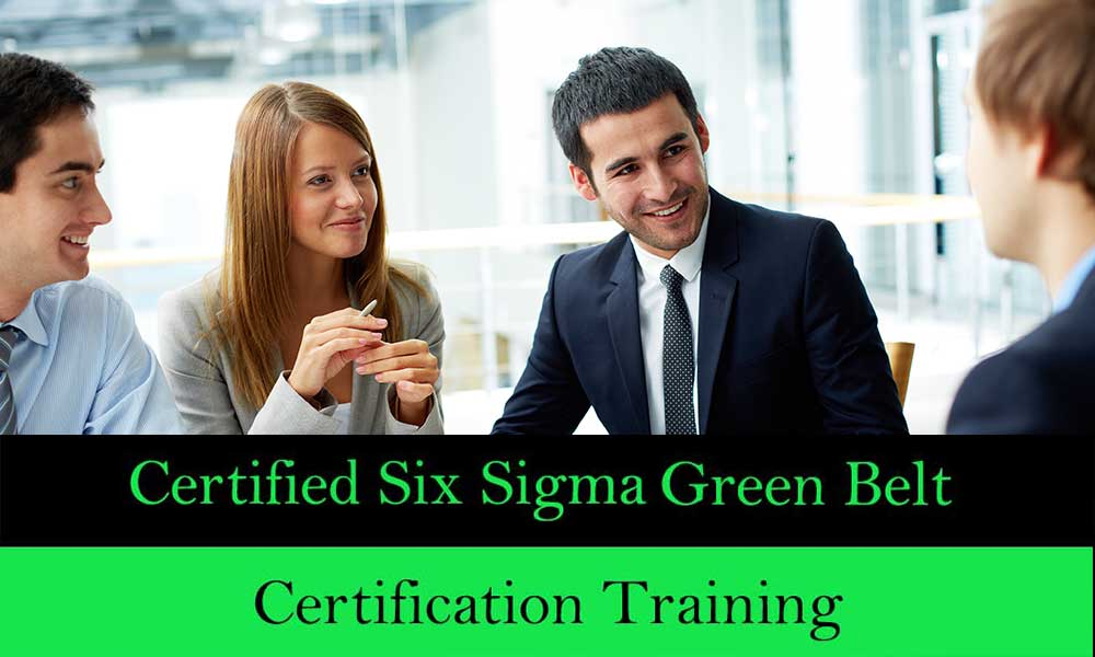 Six Sigma Green Belt Training And Certification Preducation Events