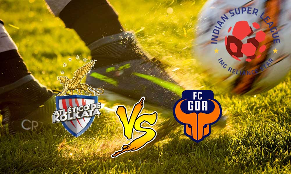 Hero Indian Super League-FC Goa vs Atlético de Kolkata