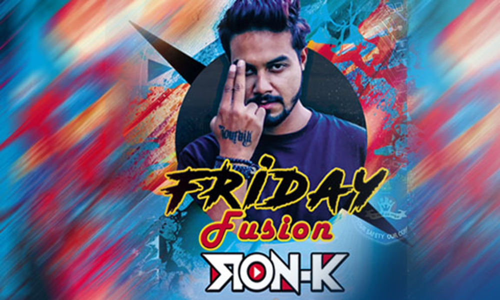Friday Fusion with DJ Ron K