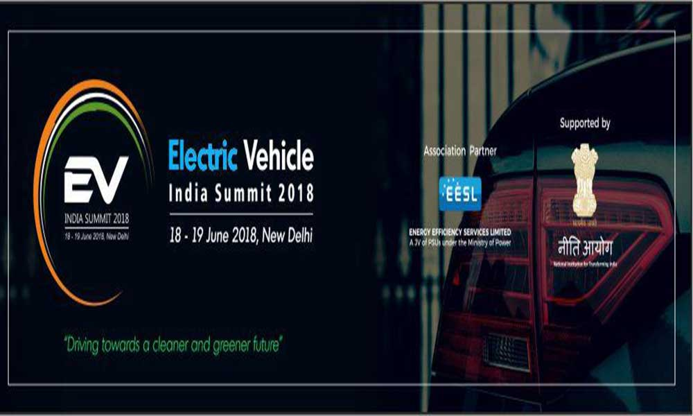 Electric Vehicle conference in 2018-EV India Summit 2018 supported by NITI Aayog