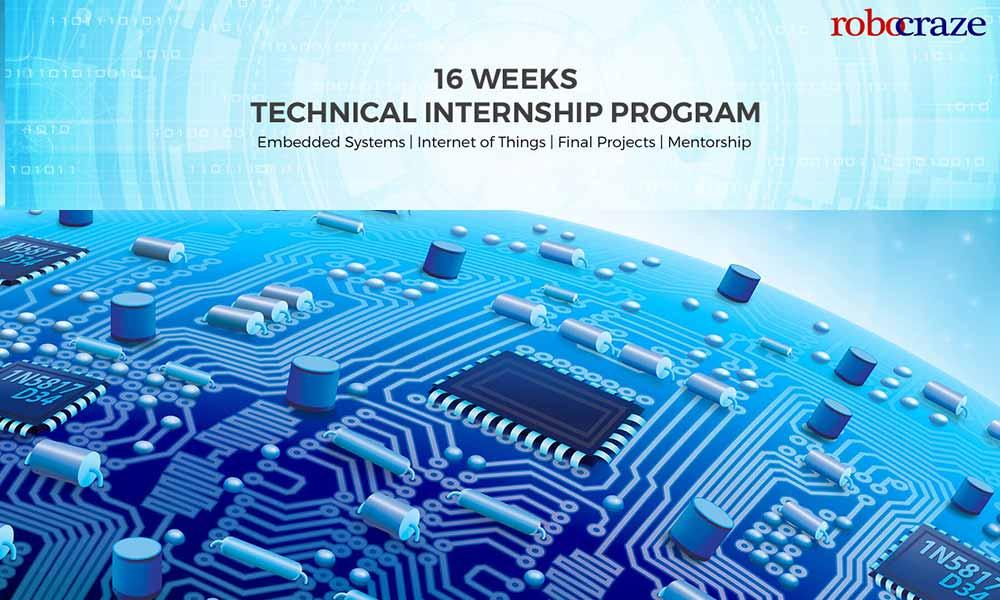 16 Weeks Technical Internship Program