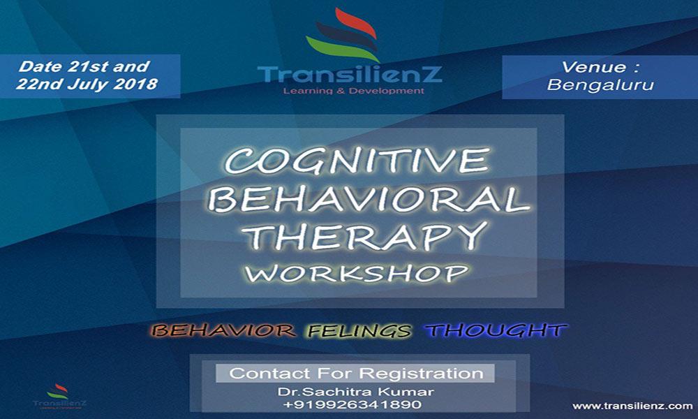 CBT Workshop at Bangalore