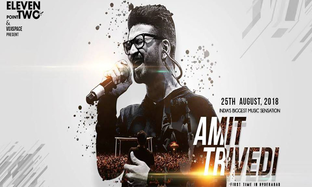 Amit Trivedi Live Concert at Hyderabad