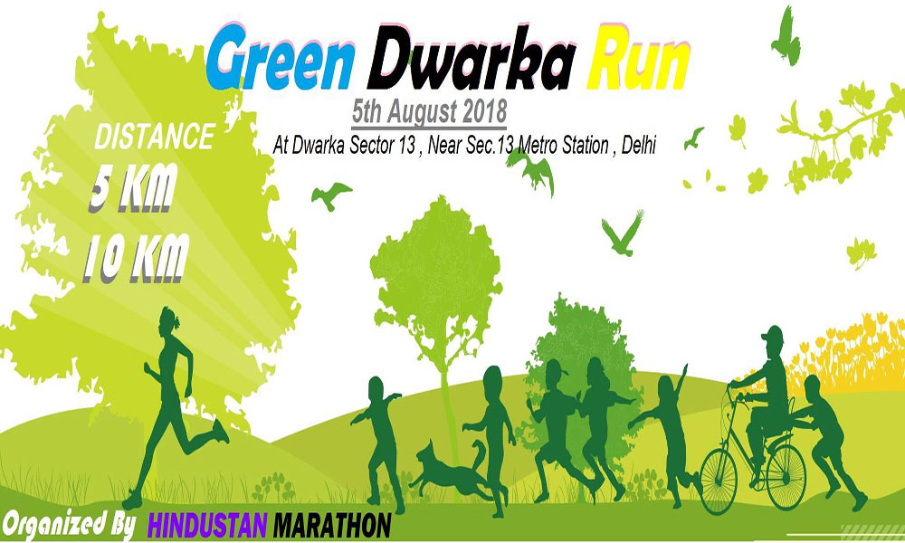 Green Dwarka Run Delhi