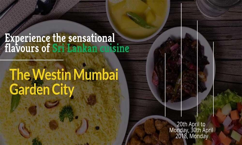 Experience the sensational flavours of Sri Lankan cuisine