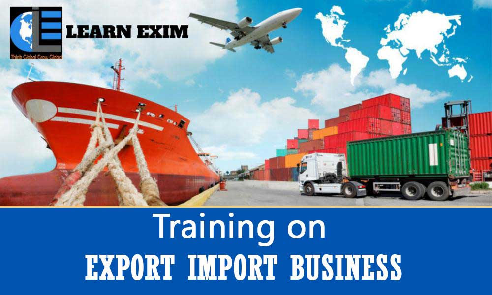 Training on Export - Import Business