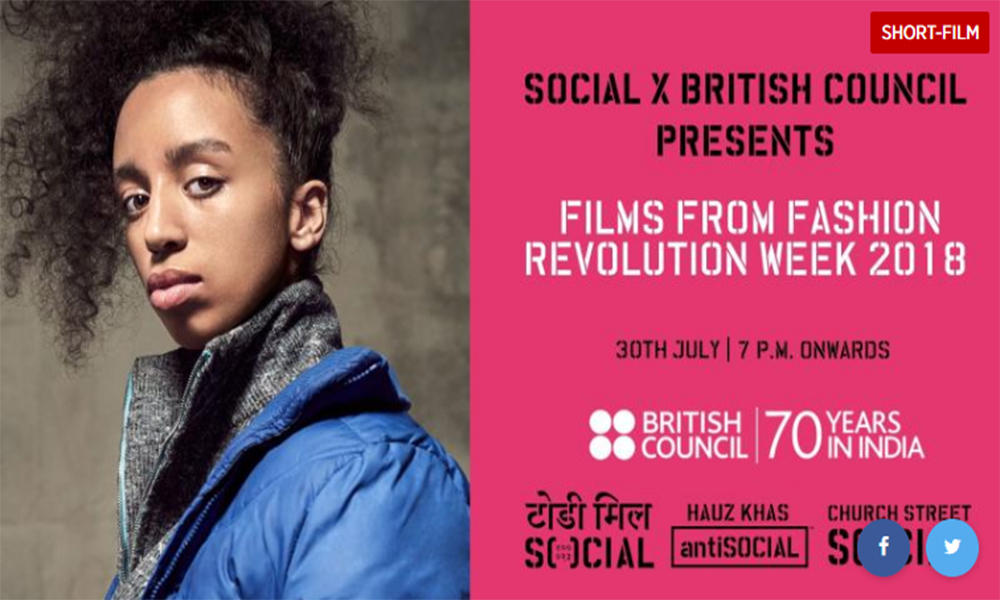 Short films on Global Fashion Revolutionaries at Church Street Social