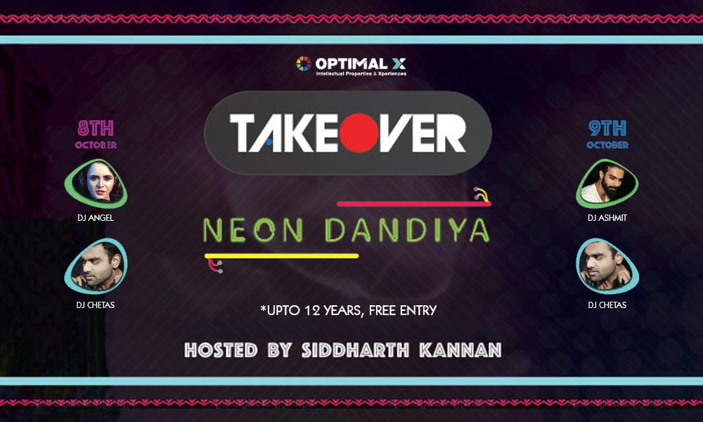 Image result for Takeover Neon Dandiya