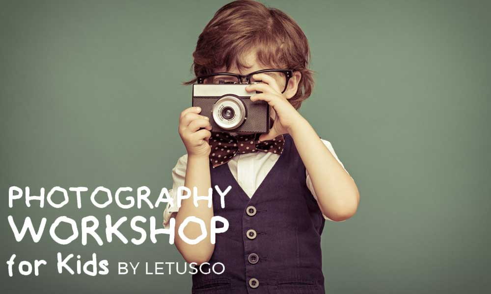 Photography Workshop for Kids by LetUsGo