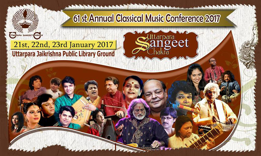 61th Annual Classical Music Conference of Uttarpara Sangeet Chakra