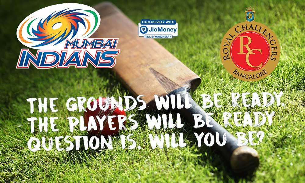 IPL 2017-Mumbai Indians vs Royal Challengers Bangalore